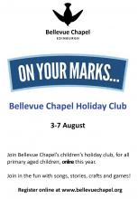 Bellevue Chapel holiday club advert